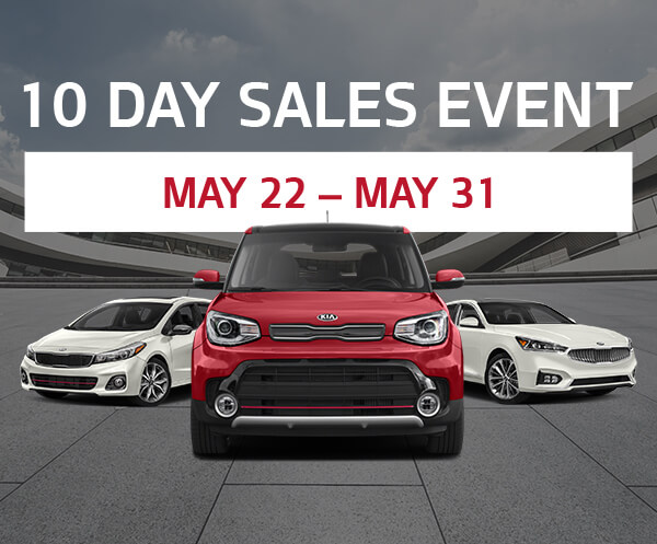 10 Day Sale May 22 to 31st
