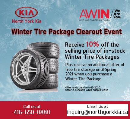 Winter Tire Package Clearout Sale
