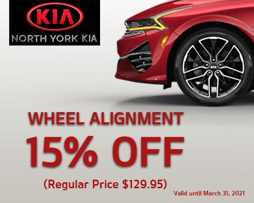 Wheel Alignment Specials
