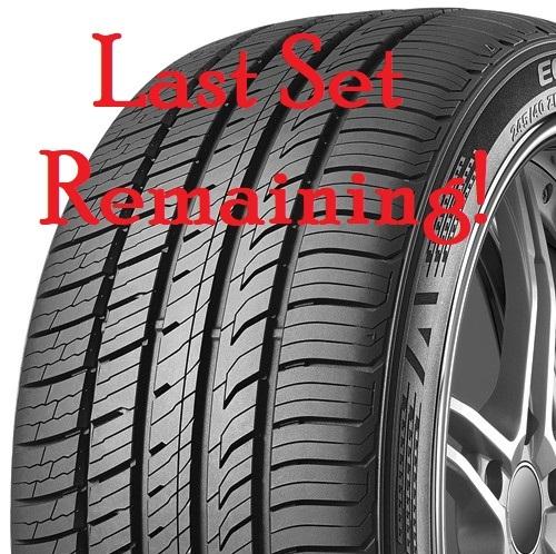 215/55R17 Kumho Ecsta PA51 All Season Tire Set
