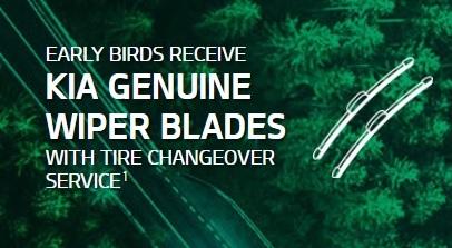 No Charge Kia Genuine Wiper Blades